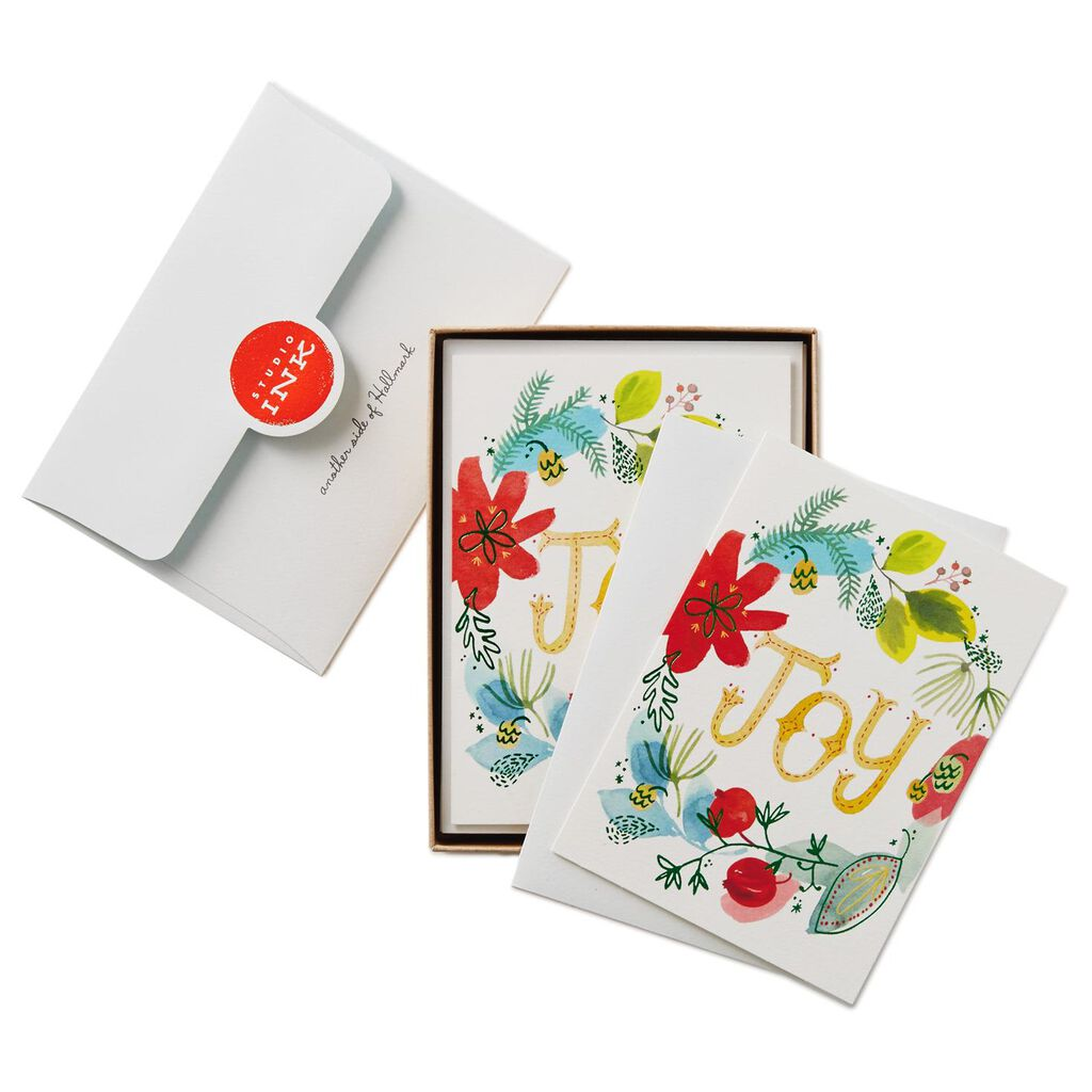 Joy To You Christmas Cards, Box of 12 - Boxed Cards - Hallmark