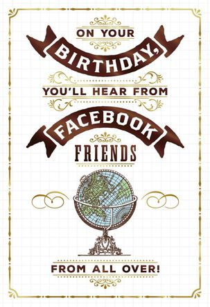 Old School Friends Funny Birthday Card