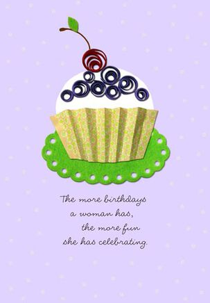 More Birthdays, More Celebrating Birthday Card