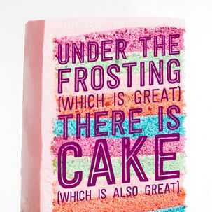 Layers of Frosting Birthday Card