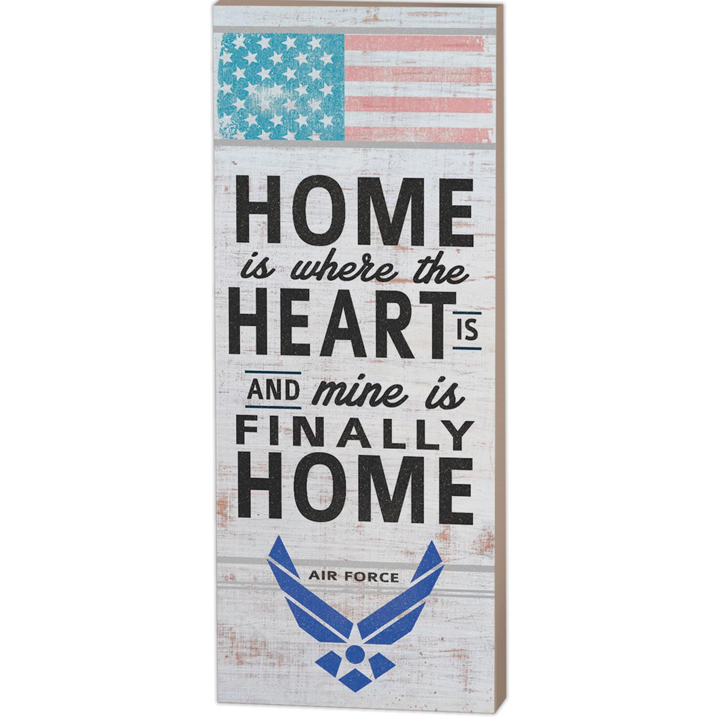 U S Air Force My Heart Is Home Wood Sign 7x18 Plaques Signs Hallmark,Best Wireless Charging Station For Apple Watch And Iphone