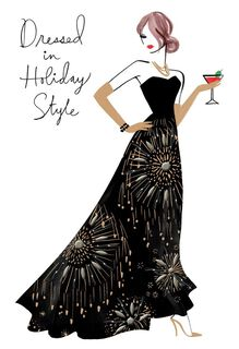 All Dressed Up Christmas Card,