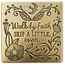Walk By Faith Magnet, , large