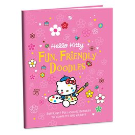 Hello Kitty® Fun, Friendly Doodles Book, , large