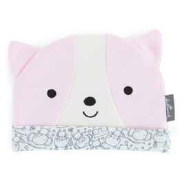 Pink Cat Baby Hat, , large