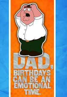 Beer for Dad Family Guy Birthday Card,