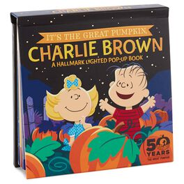 Peanuts® It's the Great Pumpkin, Charlie Brown™ Pop-up Book With Light, , large