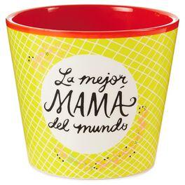 La Mamá Mejor Painted Flowerpot, , large