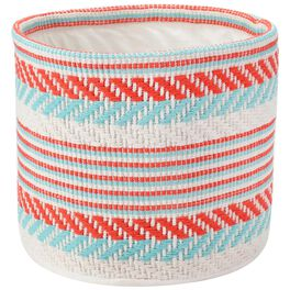 Red and Blue Arrow Patio Basket, Medium, , large