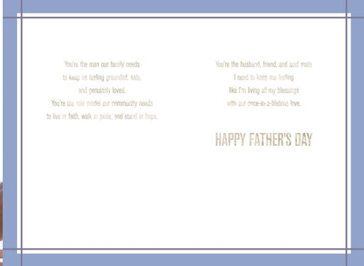 Such a Good Man Father's Day Card for Husband,