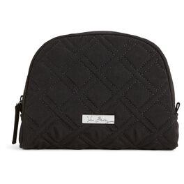 Vera Bradley Classic Black Medium Zip Cosmetic Case, , large