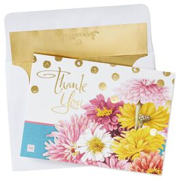 Marjolein Bastin Bright Blooms Thank You Notes, Pack of 10, , large
