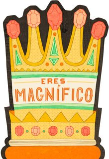 You're Magnificent Spanish-Language Musical Father's Day Card,