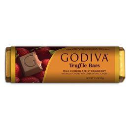 Godiva Milk Chocolate With Strawberry Bar, , large