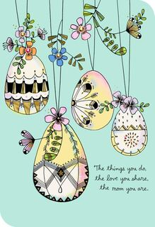 Grateful for You Easter Card for Mom,
