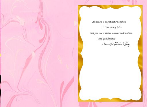 You Are Brilliant and Divine Mother's Day Card,