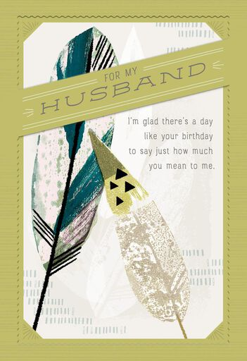 you re incredible birthday card for husband greeting cards hallmark