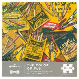 The Color of Fun Crayola 1000-Piece  Puzzle, , large