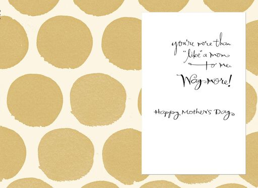 You're Just Like a Mom Mother's Day Card,