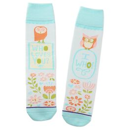 Owls Toe of a Kind Socks, , large