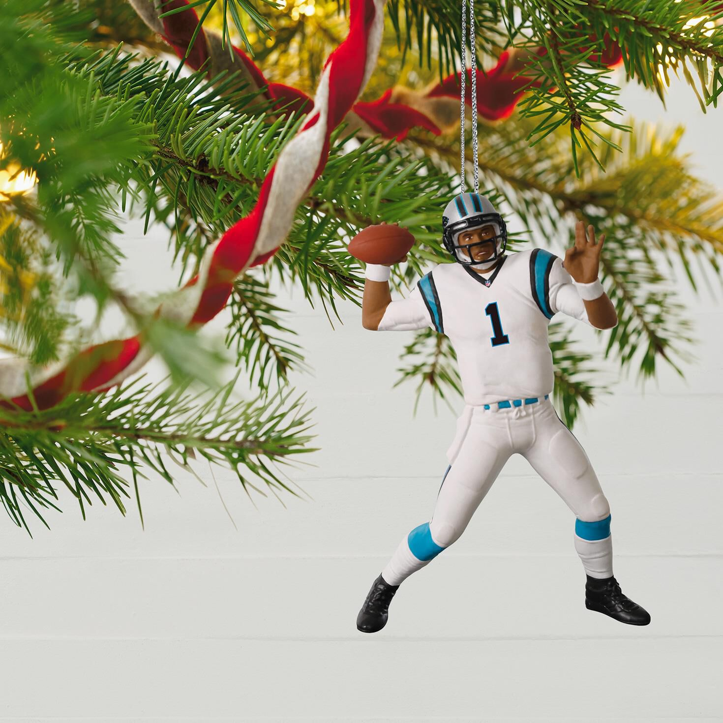 Football Legends Carolina Panthers Cam Newton Ornament - Keepsake ...