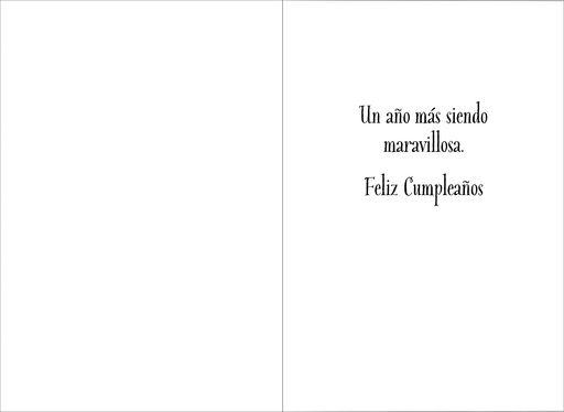 "Wonder Woman™ Large Spanish-Language Birthday Card, 12"","