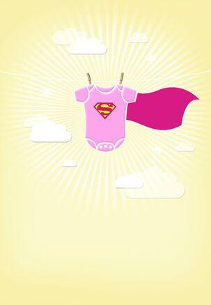 Felicidades por Su Pequeña Heroína - SUPERGIRL™