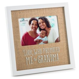 Promoted to Grandma Wood Picture Frame, 4x6, , large