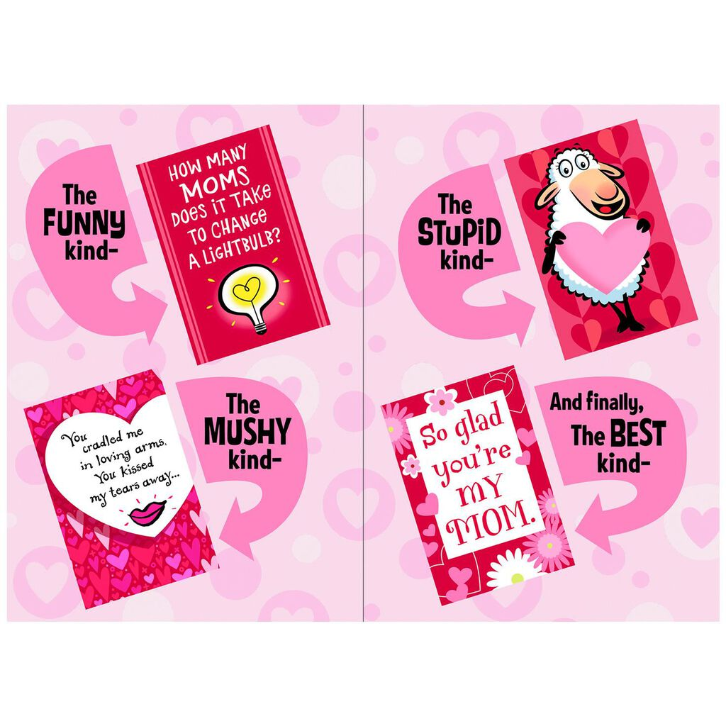 So Many Choices Mom Valentine S Day Pop Up Card Greeting Cards