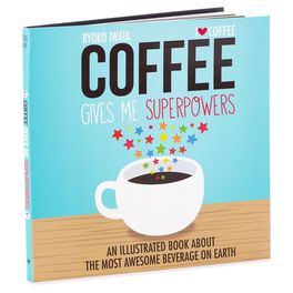 Coffee Gives Me Superpowers Book, , large