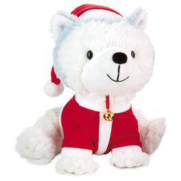 Jingle® in Santa Suit Stuffed Animal, , large