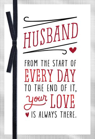 All My Days Valentine's Day Card for Husband