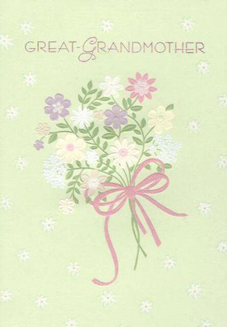 Flowers For Great Grandmother Birthday Card Greeting Cards Hallmark