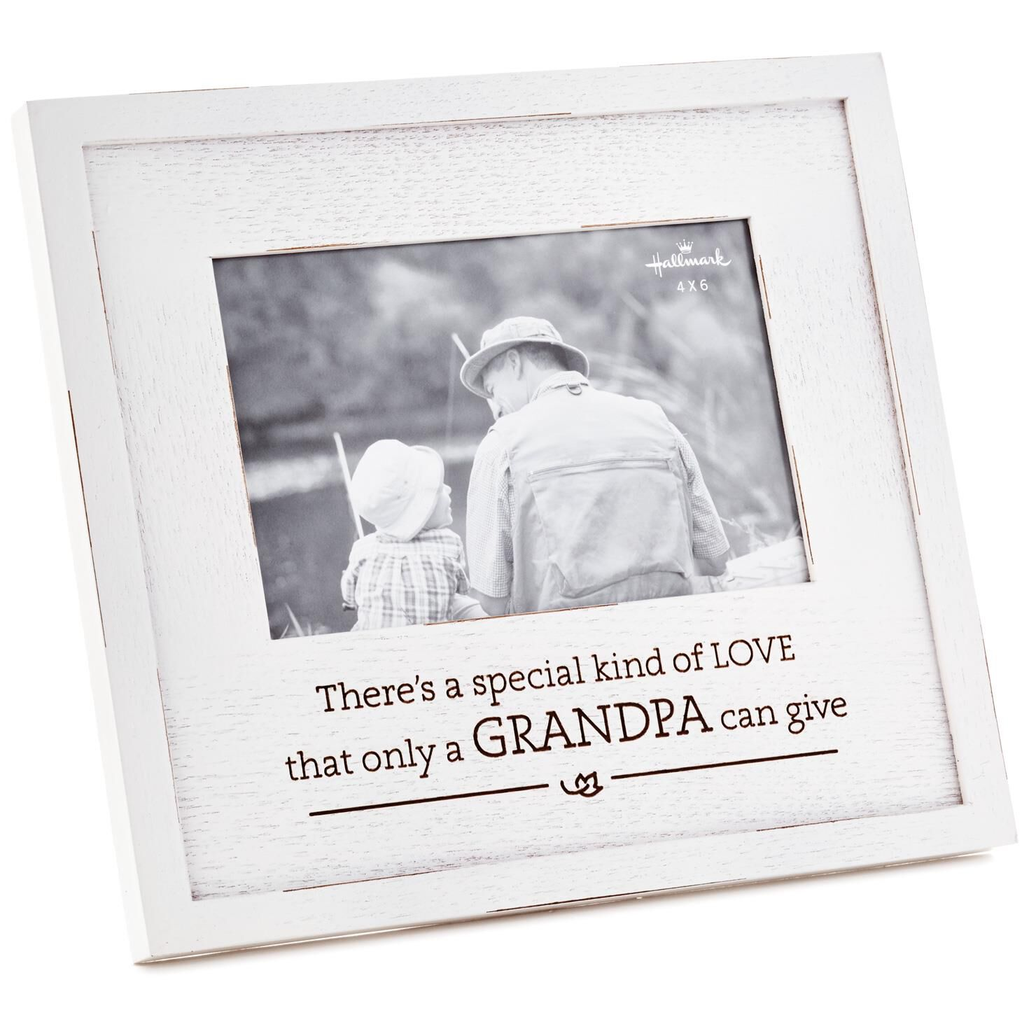 Grandpa Special Kind of Love Wood Picture Frame, 8.75x8 - Picture ...