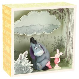 Eeyore and Piglet Shadow Box, , large