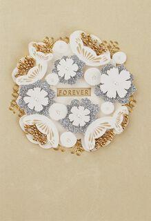 Beautiful Beginning Wedding Card,