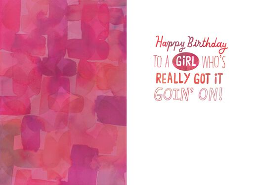 I'm Every Woman Birthday Card,