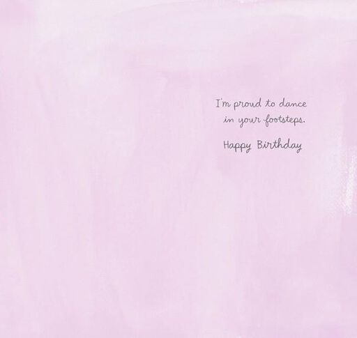 In Your Footsteps Birthday Card,