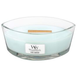 WoodWick® HearthWick Flame® Candle, Pure Comfort, , large