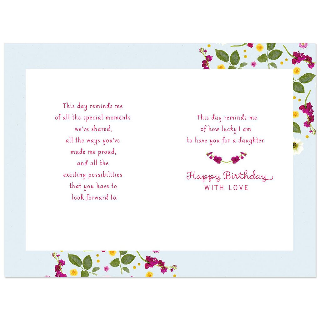 I Love Being Your Mom Birthday Card