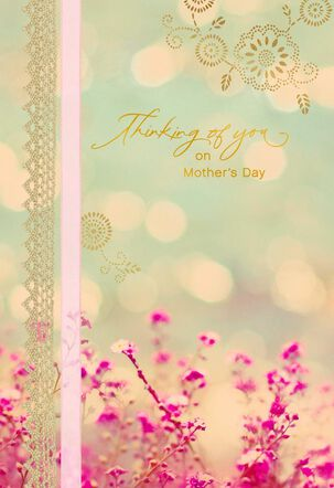 Comforting Flowers in Meadow Mother's Day Card
