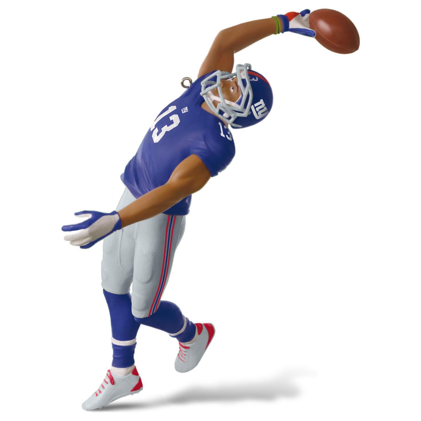 Football player ornament - Nfl New York Giants Odell Beckham Jr Ornament Keepsake Ornaments Hallmark
