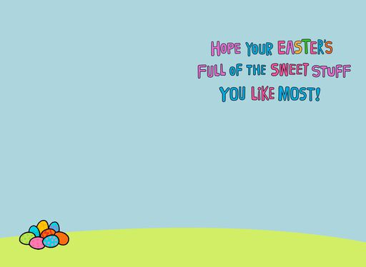 Peanuts® Snoopy Sweet Stuff Easter Card For Grandson,