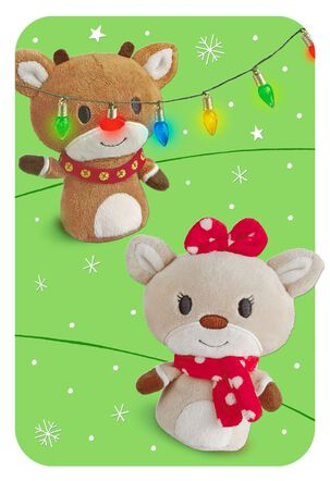 Rudolph the Red-Nosed Reindeer® Bright Shiny Wishes Christmas Card