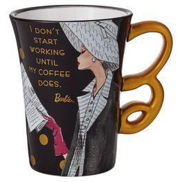 Barbie™ Start Working Ceramic Mug, 12 oz., , large