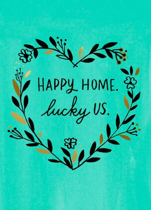Happy Home Mother's Day Card