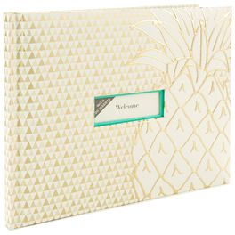 Pineapple Guest Book, , large