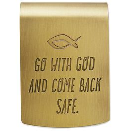 Go With God Car Visor Clip, , large