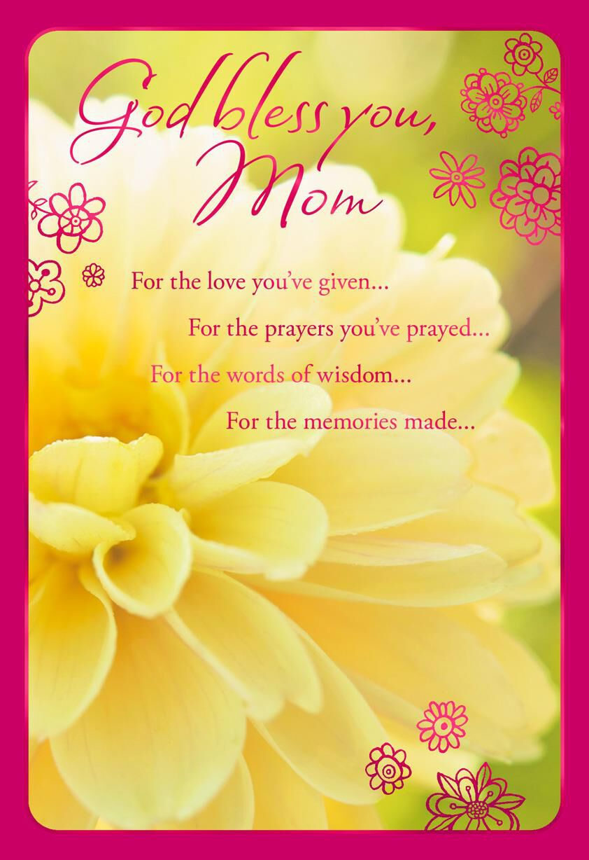 Love You Ve Given Religious Birthday Card For Mom Greeting Cards Hallmark Jpg 444x648