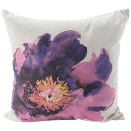 """Large Flower Pillow, 20"""" Square, , large"""